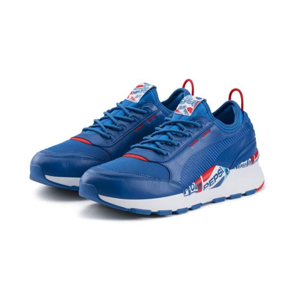 125e3ac4354 Home   Puma x Pepsi Max RS-0 Mens Sports Casual Trainers Running Shoes  Blue. Tap to expand